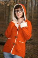 Velma Dinkley: Hood Up by HarleyTheSirenxoxo