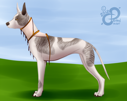 Snick: Puppy Profile by PaintedCricket