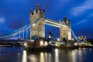 London Tower Bridge - England by Thameralhassan