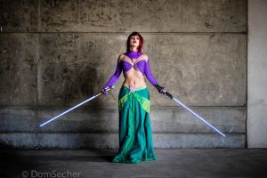 Ariel Jedi by Lily-on-the-moon