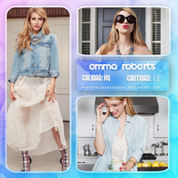 Photopack Emma Roberts #5 by PhotopacksPauSakura