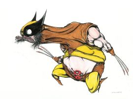 Wolverine! by sbelmarsh