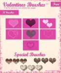 Valentines Brushes by IvaxXx