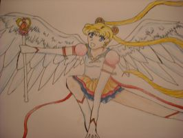 Eternal Sailor Moon Color by Misa--Chan