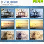 Deep Hopes Photoshop Actions by Wnison