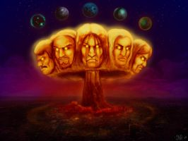 The Metalocalypse by MockingbirdFly