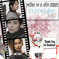 Jennifer Lawrence Png Pack (Katniss Everdeen)  by NiklausAysegulSS