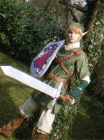 Link Twilight Princess WIP 2 by mugen-chan