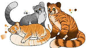 Breeding set 4 -Rajah and Red- by Blubird101
