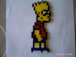 Bart2Bart simpson by perles-hama