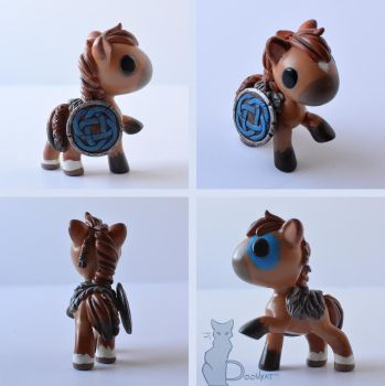 Little Woad Horse by TheDoomKat