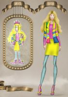 Childhood fashion sketches revisited 4 by BasakTinli