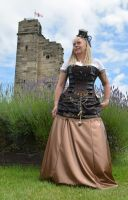Steampunk at Tutbury Castle 2014 (7) by masimage