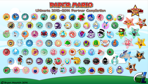 Paper Mario Ultimate 2012-2014 Partner Compilation by DPghoastmaniac2