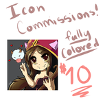 Icon Commission Sheet! by TheKiwiSlayer