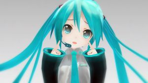MMD Cute Miku by Xenosnake