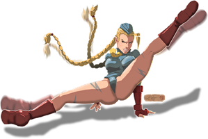 battle cammy by RAYN3R-4rt