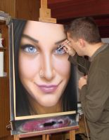 Airbrushing by kshandor