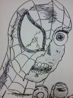 Zombie Spider-Man by blindfaith311