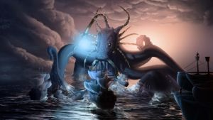 Water Colossus by Joshi38