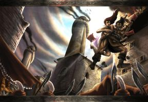 Conan: Escape from Khemi by Blensig