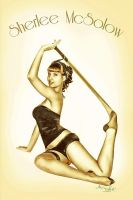 Pinup Sherlee by lacrima83