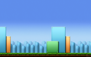 SMB3: Block Platform BG Wallpaper by BLUEamnesiac
