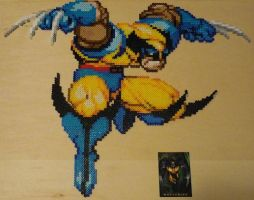 Wolverine Bead Sprite by monochrome-GS
