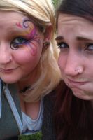 Face Paint - Me and Esme by Ally-sun