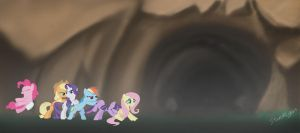 Into The Cave We Go by StarDragon102