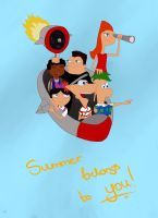 PnF: Summer belongs to you by OneSmartIdiot