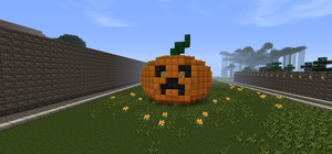 Minecraft Creeper Pumkin by kareokelidescope