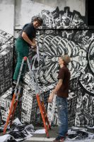 Ex ITALCEMENTI WALL PAINTING by orticanoodles