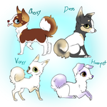 Dog Adoptables Closed by Hunter-Rosalie