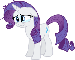 Sad Rarity by davidsfire