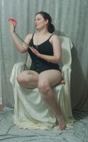 Seated Nouveau Lady 20 by themuseslibrary