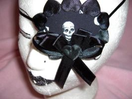 Eye Patch with Skull by nashimiron
