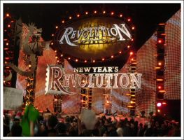 WWE Raw New Year's Revolution by bluetogray