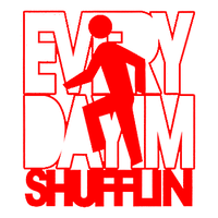 Everyday I'm Shufflin' Logo by Tharun23