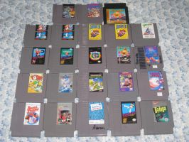My TRUE NES collection by T95Master