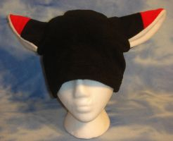 Black Red Fox Hat Cosplay by HatcoreHats
