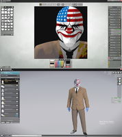 APB Reloaded: Payday 2 Dallas Symbol and Character by EzioIlMentore