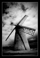 Bidston Mill II by Dave-Ellis