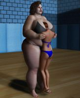 BBW vs Skinny by suneeeel