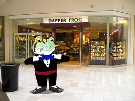 The Dapper Frog by torquesmacky