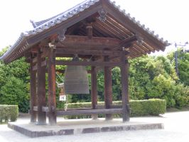 Temple Bell by TigrisFirecatcher