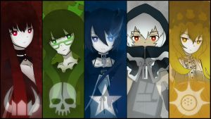 Black Rock Shooter by RKMR-x