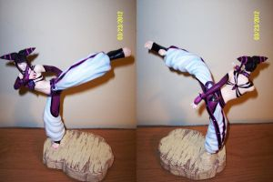 Juri Han from Street Fighter IV Statue by ShizNat4EVER