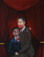 Automatonophobia (Fear of Ventriloquist Dummies) by herrerabrandon60