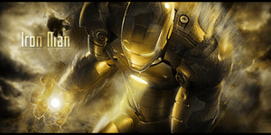 Iron Man by Grily